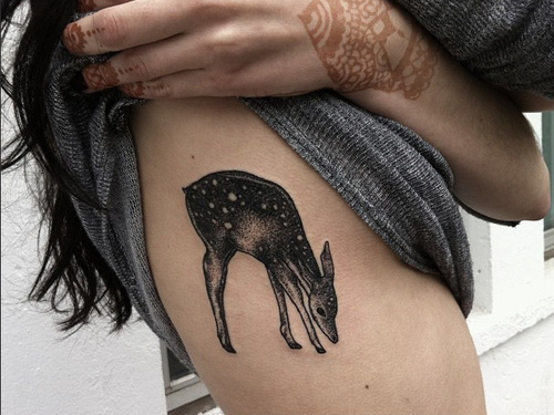 deer_tattoo