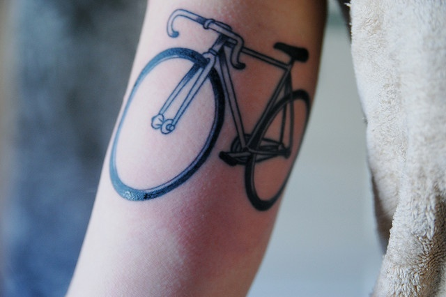 bike tattoo 2