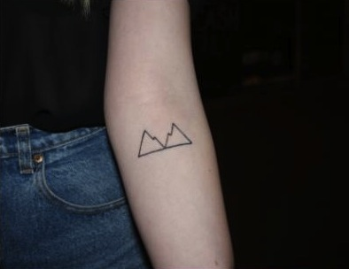 mountain tattoo 2
