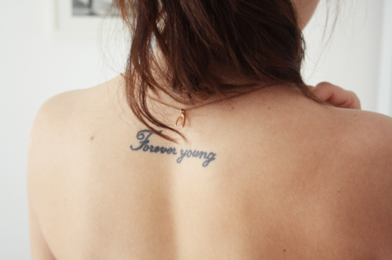Forever young tattoologist for Forever young in japanese tattoo