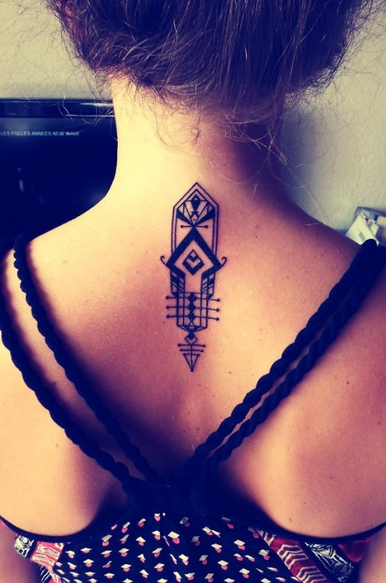 neck tattoo 3