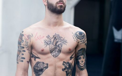 chest tattoo 3