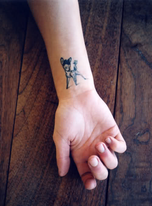bambi tattoo 3