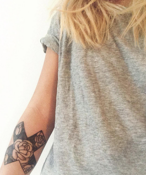 rose tattoo 2