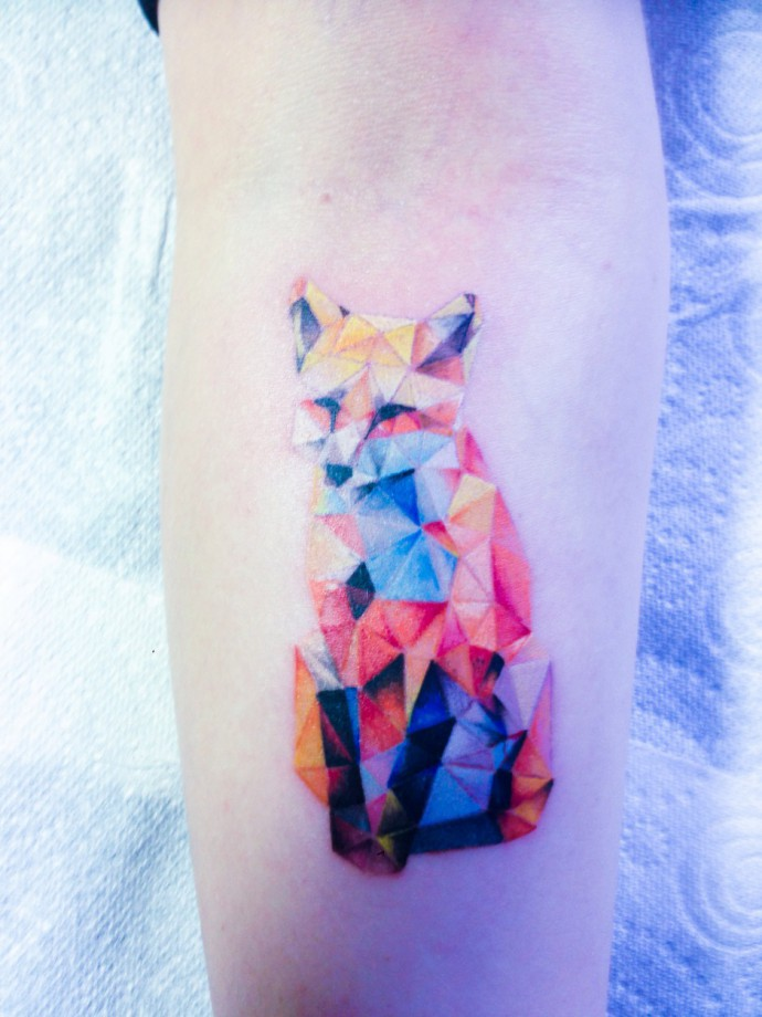 foxes tattoo 2