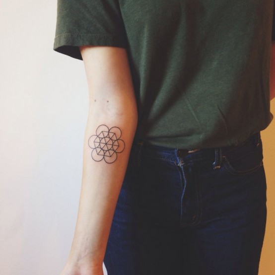 geometric tattoo 3