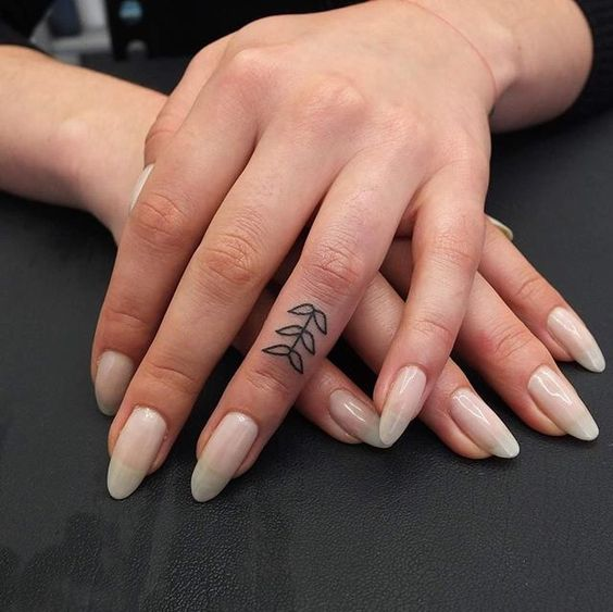 finger tattoo 2