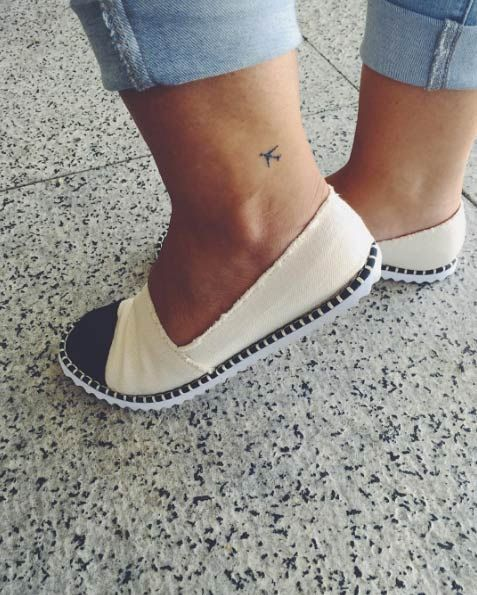 ankle tattoo 2