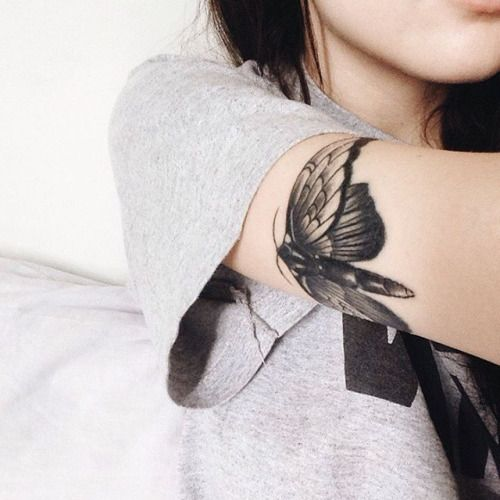 moth tattoo 2